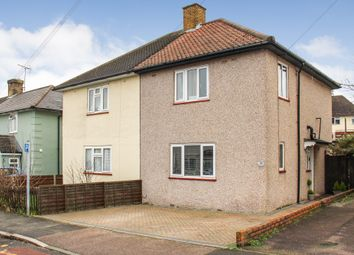 Thumbnail 3 bed semi-detached house for sale in Heath Road, Crayford, Dartford