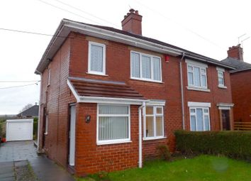 Thumbnail 2 bedroom semi-detached house to rent in Greenhill Road, Norton In The Moors, Stoke-On-Trent