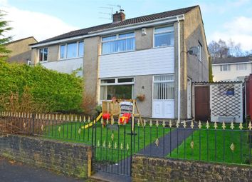 Thumbnail 3 bed semi-detached house for sale in St Annes Gardens, Maesycwmmer, Hengoed, Caerphilly