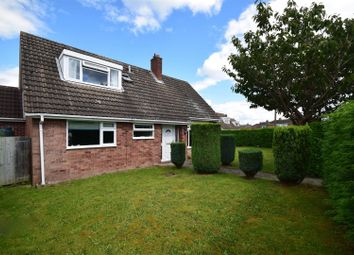 Thumbnail 4 bed detached bungalow for sale in The Oval, Bicton, Shrewsbury