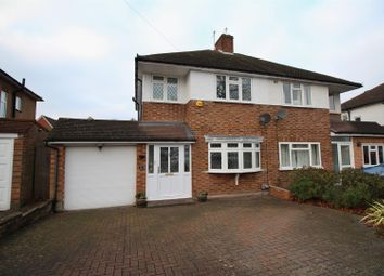 Thumbnail 3 bed semi-detached house for sale in Bassetts Close, Farnborough, Orpington
