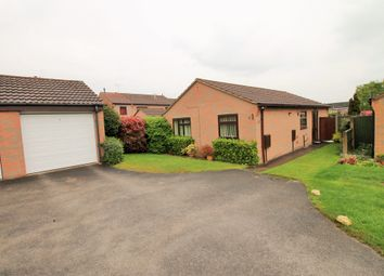 Thumbnail 3 bed detached bungalow for sale in Polperro Way, Hucknall, Nottingham