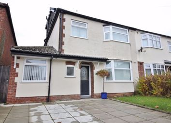 Thumbnail 4 bed semi-detached house for sale in Waylands Drive, Hunts Cross, Liverpool