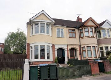 Thumbnail 3 bed end terrace house for sale in Hazel Road, Coventry