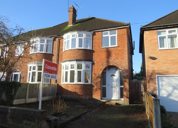 Thumbnail 3 bedroom semi-detached house for sale in Guilford Road, Stoneygate, Leicester