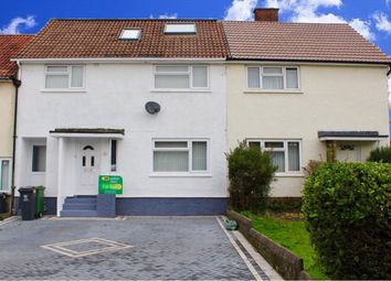 Thumbnail 4 bed terraced house for sale in Llanon Road, Llanishen, Cardiff