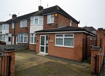 Thumbnail 3 bedroom end terrace house for sale in Abbeycourt Road, Leicester
