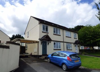 Thumbnail 3 bed semi-detached house for sale in Crocken Tor Road, Okehampton
