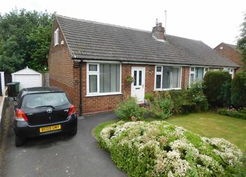 Thumbnail 2 bedroom semi-detached bungalow for sale in Thornholme Road, Marple, Stockport