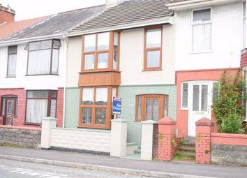 Thumbnail 2 bedroom terraced house for sale in Eaton Road, Brynhyfryd, Brynhyfryd Swansea