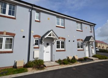 Thumbnail 2 bed terraced house for sale in Belfrey Close, Hubberston, Milford Haven