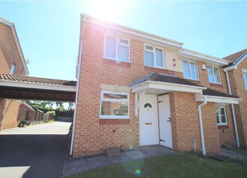 Thumbnail 2 bed semi-detached house for sale in Willowside Green, Spondon, Derby