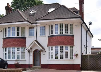 Thumbnail 4 bed semi-detached house for sale in Dorset Road, Cheam, Surrey