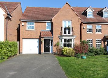 Thumbnail 4 bed detached house for sale in Tythbarn Leys, Rugby