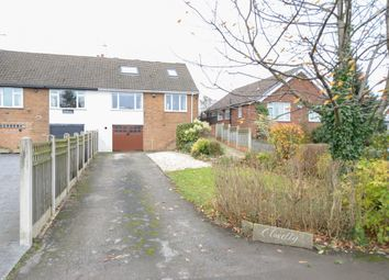 Thumbnail 3 bed semi-detached house for sale in Tibshelf Road, Holmewood, Chesterfield