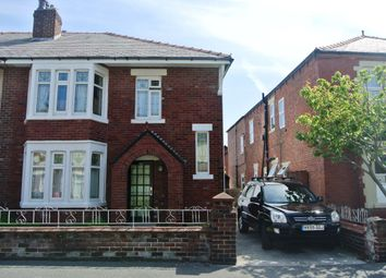 Thumbnail 3 bedroom semi-detached house to rent in Saville Road, Blackpool, Lancashire