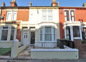 Thumbnail 3 bed terraced house for sale in North End Avenue, Portsmouth
