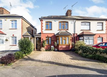 Thumbnail 4 bed semi-detached house for sale in Argyle Gardens, Upminster