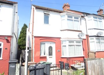 Thumbnail 3 bedroom semi-detached house to rent in Beverley Road, Luton