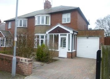 Thumbnail 3 bed semi-detached house to rent in Swansfield Park Road, Alnwick