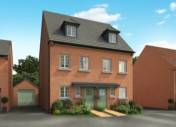 "Thumbnail 3 bed semi-detached house for sale in ""The Greetham"" at Acorn Park, Cranford Road, Burton Latimer, Kettering"