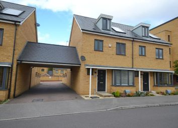Thumbnail 4 bed semi-detached house for sale in Wodell Drive, Stratford Park, Milton Keynes, Buckinghamshire