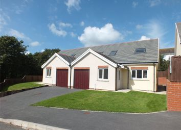 Thumbnail 3 bedroom semi-detached bungalow for sale in Plot 2, New Development At Woodland View, Milford Haven