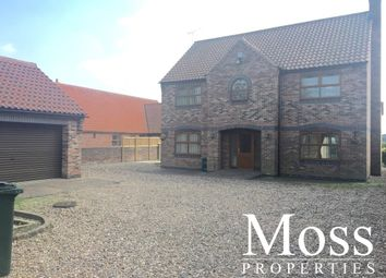 Thumbnail 4 bed detached house to rent in Moss Road, Moss, Doncaster