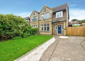 Thumbnail 4 bedroom semi-detached house for sale in St. Chads Avenue, Headingley, Leeds