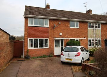 Thumbnail 3 bed end terrace house for sale in Bagridge Close, Wolverhampton