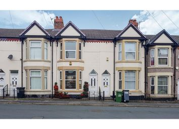 Thumbnail 3 bed terraced house for sale in Craven Street, Birkenhead