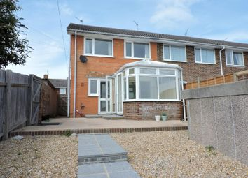 Thumbnail 3 bed end terrace house to rent in Farmlea Road, Cosham, Portsmouth