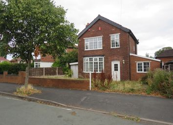 Thumbnail 3 bed detached house for sale in Young Avenue, Stafford