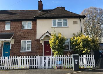 Thumbnail 2 bed end terrace house to rent in Ordnance Close, Feltham, Middlesex