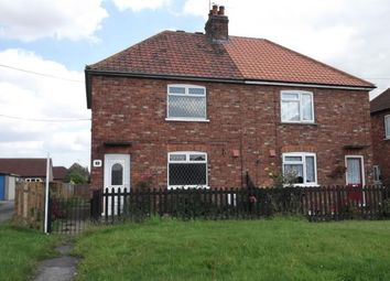 Thumbnail 3 bed semi-detached house to rent in Hutton Road, Cranswick