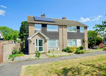 Thumbnail 3 bed semi-detached house for sale in Offord Cluny, St Neots, Cambridgeshire