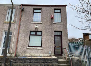 Thumbnail 3 bed end terrace house for sale in Gelert Street, Treboeth, Swansea