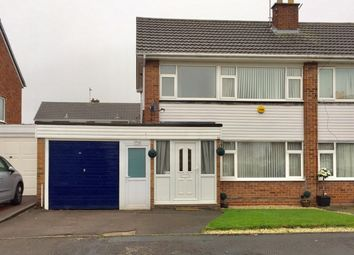 Thumbnail 3 bed semi-detached house to rent in Willow Road, Newhall