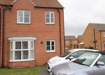Thumbnail 1 bed semi-detached house to rent in Cedar Way, Selby