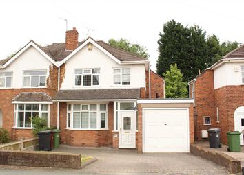 Thumbnail 3 bedroom semi-detached house for sale in The Avenue, Castlecroft, Wolverhampton