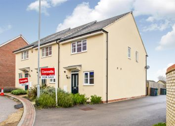 Thumbnail 2 bed end terrace house for sale in St Johns Lane, Papworth Everard, Cambridge