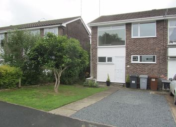 Thumbnail 3 bed mews house for sale in Avon Drive, Congleton