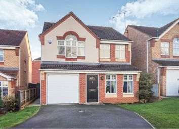 Thumbnail 4 bed detached house for sale in Wellingley Road, Doncaster