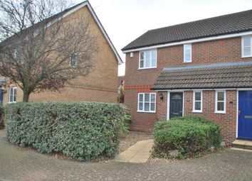 Thumbnail 2 bed semi-detached house for sale in Egret Close, St. Marys Island, Chatham