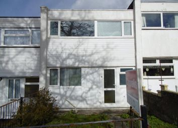 Thumbnail 3 bedroom terraced house to rent in Cromer Walk, Plymouth, Devon