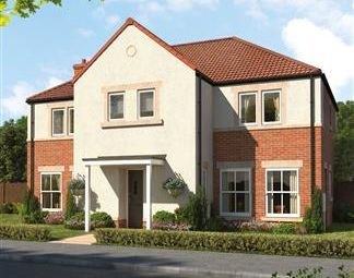 Thumbnail 4 bedroom detached house for sale in Stephenson Park, Killingworth