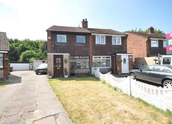 Thumbnail 3 bed semi-detached house for sale in Langden Crescent, Bamber Bridge, Preston, Lancashire