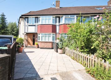 Thumbnail 4 bed end terrace house for sale in Chatsworth Gardens, New Malden