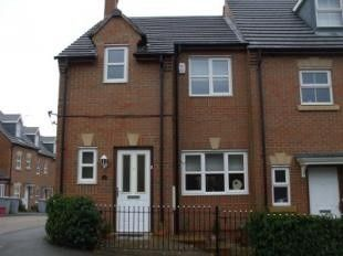 Thumbnail 3 bed end terrace house to rent in Union Street, Kettering