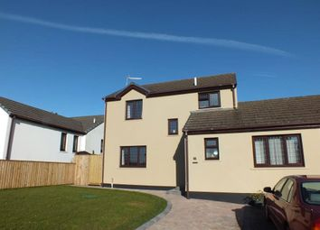 Thumbnail 3 bedroom link-detached house for sale in Grove Court, St. Florence, Tenby